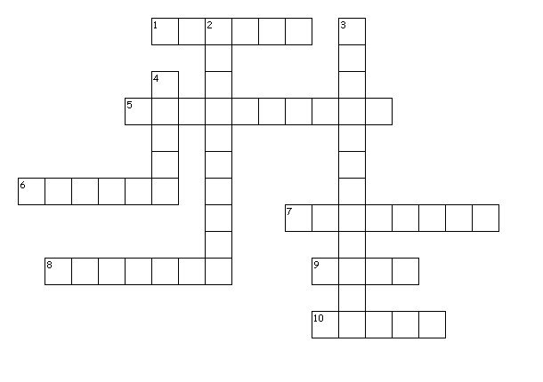 -Locations Crossword-