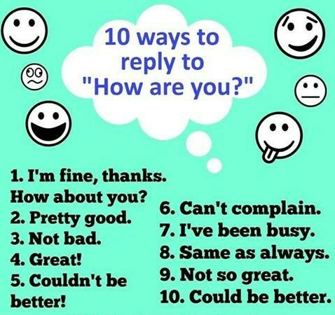 10 ways to reply