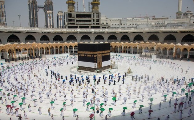 A different Hajj takes place in Mecca
