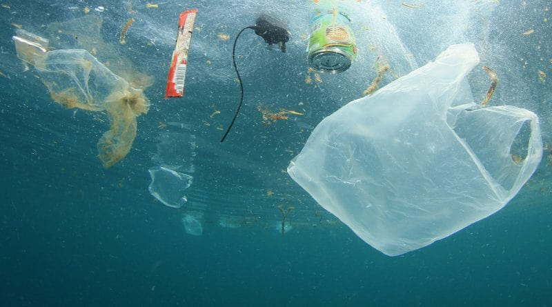Plastic pollution flowing into oceans to triple by 2040