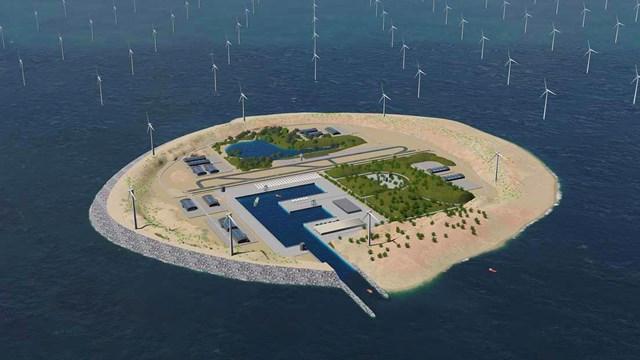 Denmark to make an artificial clean-energy island