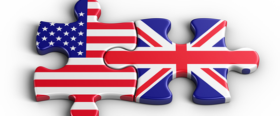 BRITISH ENGLISH VS. AMERICAN ENGLISH I