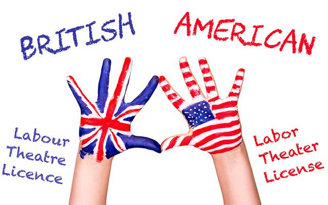 İngiliz ve Amerikan İngilizcesi Arasındaki Farklar
